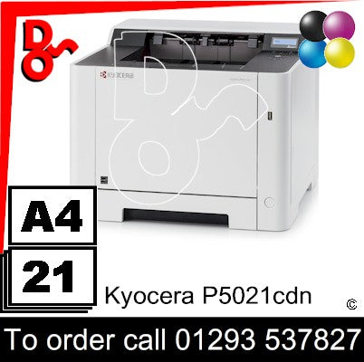 NEW Kyocera P5021cdn Colour A4 Printer Crawley West Sussex and Surrey