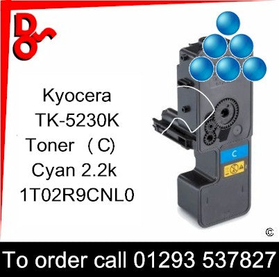 Kyocera P5521, M5521 Premium Compatible Toner Cartridge (C) Black 2.2k 1T02R9CNL0 next day UK Nationwide call 01293 537827