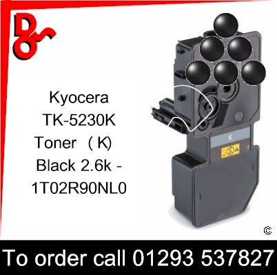 Kyocera P5521, M5521 Premium Compatible Toner Cartridge (K) Black 2.6k 1T02R90NL0 next day UK Nationwide call 01293 537827