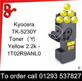 Kyocera P5521, M5521 Premium Compatible Toner Cartridge (Y) Yellow 2.2k 1T02R9ANL0 next day UK Nationwide call 01293 537827
