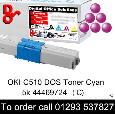 OKI C510 Toner 44469723 Magenta Premium Compatible Toner Cartridge Quality Guaranteed for sale Crawley West Sussex and Surrey