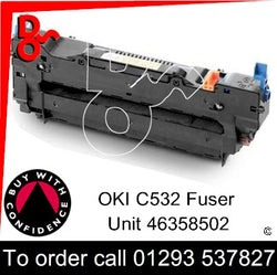OKI ES5432, 5442, 5463, 5473 Genuine OKI Fuser Unit - 46358502 UK nextday delivery