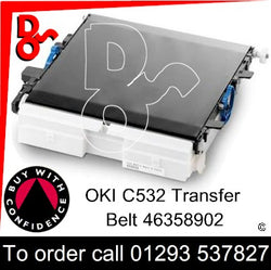 OKI ES5432, 5442, 5463, 5473 Genuine OKI Transfer Belt Unit - 46394902 UK next day delivery