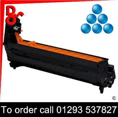 Call 01293 537827 to order OKI C801 (C) Cyan Drum EP Cartridge - 44064009, 20k yield, in stock, nationwide next day delivery from our Crawley Office, we will deliver items in West Sussex, East Sussex and Surrey in person and fit them if required.