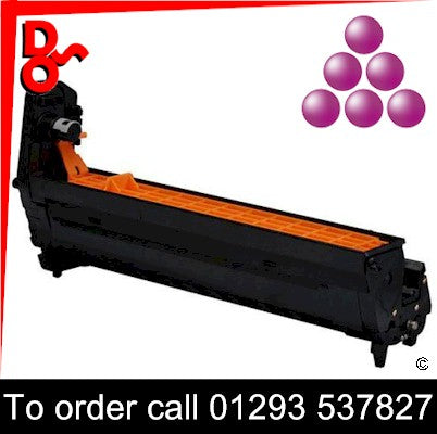 Call 01293 537827 to order OKI C801 (M) Magenta Drum EP Cartridge - 44064008, 20k yield, in stock, nationwide next day delivery from our Crawley Office, we will deliver items in West Sussex, East Sussex and Surrey in person and fit them if required.