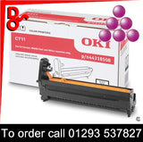 Buy with confidence a Genuine OKI C711 (M) Magenta Drum EP Cartridge - 44315106 from a OKI Executive Series Reseller.