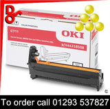 Buy with confidence a Genuine OKI Drum OKI C801 (Y) Yellow Drum EP Cartridge - 44064009 from a OKI Executive Series Reseller.