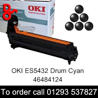 OKI ES5432 Drum 46484124 Black Genuine Executive Series Drum EP Cartridge for sale Crawley West Sussex and Surrey
