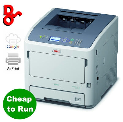 OKI Printer Mono A4 ES7131dnw Executive Series LED Laser Printer 45487112 for sale Crawley West Sussex and Surrey