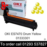 OKI ES7470 Drum 01333301 Yellow Genuine OKI Executive Series Toner Cartridge for sale Crawley West Sussex and Surrey
