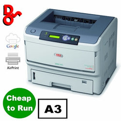 OKI Printer Mono A3 OKI ES8140dn Executive Series LED Laser Printer 01308101 for sale Crawley West Sussex and Surrey