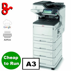 OKI MFP Printer Colour A3 OKI ES8453dnv Multi Function Executive Series Printer 45850615 for sale Crawley West Sussex and Surrey