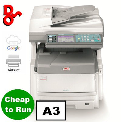 OKI MFP Printer Colour A3 OKI ES8460dn Multi Function Executive Series Printer Refurbished 01247001 for sale Crawley West Sussex and Surrey