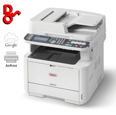 OKI MB472dnw Mono Multi-Function A4 Printer - 45858401 - 5 Available - Offer Expires 31/3/17