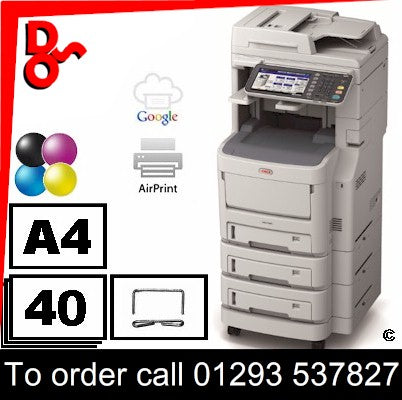 OKI MFP Printer Colour A4 OKI MC780dfn Multi Function Printer Refurbished 01334304 R0005 for sale Crawley West Sussex and Surrey