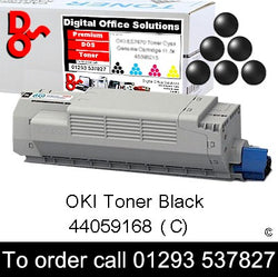 OKI MC851 Toner 44059168 Black Premium Compatible Toner Cartridge Quality Guaranteed for sale Crawley West Sussex and Surrey