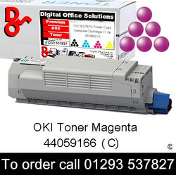 OKI MC851 Toner 44059166 Magenta Premium Compatible Toner Cartridge Quality Guaranteed