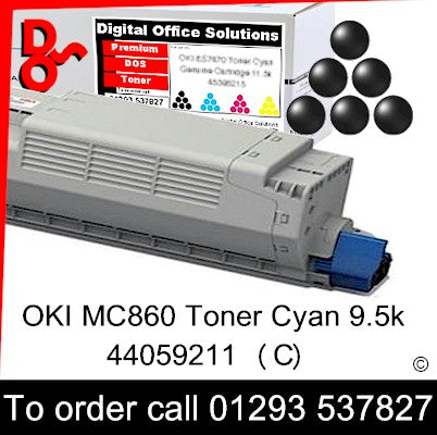 OKI MC860 Toner 44059212 Black Premium Compatible Toner Cartridge Quality Guaranteed for sale Crawley West Sussex and Surrey