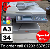 """Special Offer"" OKI MC851+dnct MFP Multi-Function A3 Colour Printer ""Excellent Condition"""