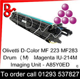 Olivetti D-Color MF 223 MF283 Drum (M) Magenta IU-214M Imaging Unit - A85Y0ED   next day UK Nationwide call 01293 537827