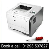 Service HP Pinter repair service HP LaserJet Enterprise P3015 Mono Laser Printer On-site Repair Service