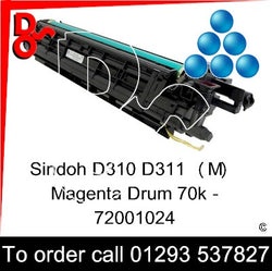 Sindoh D310 D311 Drum (C) Cyan Imaging Unit - 72001022   next day UK Nationwide call 01293 537827