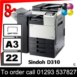 NEW Sindoh D310 MFP Multi-Function A3 Colour Printer - 72001001 Crawley West Sussex and Surrey