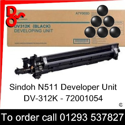 Sindoh N511 Developer Unit Black DV-312K - 72001054