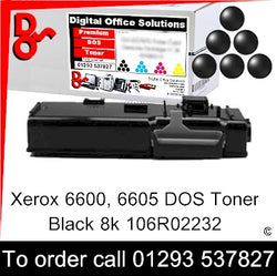 Xerox Phaser 6600 Toner 106R02232 Black 8k Toner Premium Compatible Quality Guaranteed for sale Crawley West Sussex and Surrey