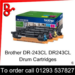 Ensure your prints never dip in quality with the DR-243CL DR243CL Drum Cartridge (2,600 Pages) (TN-247Y, TN247Y ) from Brother. Incredibly simple to install and replace, and offering top quality prints from first to last, the Drum cartridge helps you attain maximum benefit from laser printing technology. Whether you're printing at home or in the office, the  tone can help you achieve highly professional results.