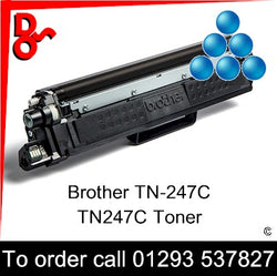Brother TN-247C TN247C Toner (C) Cyan 2.3k Premium Compatible - TN247C UK next week day delivery