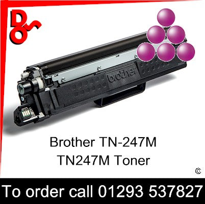 Ensure your prints never dip in quality with the TN-247M, TN247M Magenta Toner Cartridge (2,600 Pages) (TN-247M, TN247M ) from Brother. Incredibly simple to install and replace, and offering top quality prints from first to last, the toner cartridge helps you attain maximum benefit from laser printing technology. Whether you're printing at home or in the office, the Magenta tone can help you achieve highly professional results.