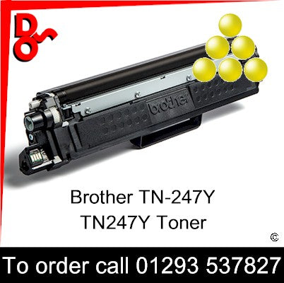 Ensure your prints never dip in quality with the TN-247Y, TN247Y Yellow Toner Cartridge (2,600 Pages) (TN-247Y, TN247Y ) from Brother. Incredibly simple to install and replace, and offering top quality prints from first to last, the toner cartridge helps you attain maximum benefit from laser printing technology. Whether you're printing at home or in the office, the Yellow tone can help you achieve highly professional results.
