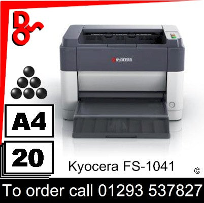 NEW Kyocera FS-1041 Mono A4 Printer UK Next day delivery Crawley West Sussex and Surrey