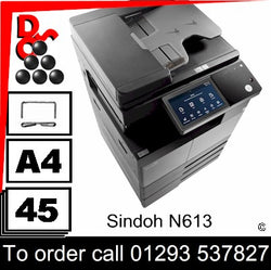 NEW Sindoh N613 A3 Mono MFP Multi-Function Printer sales, supplier