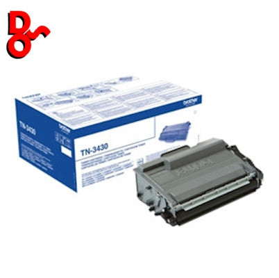 Brother Toner TN3430 TN-3430 Black Genuine Toner Cartridge for sale Crawley West Sussex and Surrey