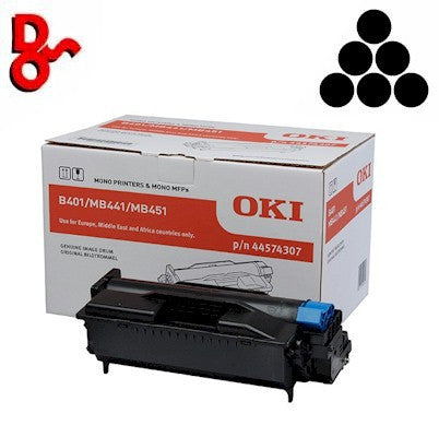 OKI B410 Drum 43979002 Black Genuine OKI Drum EP Cartridge for sale Crawley west Sussex and Surrey