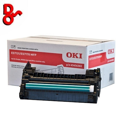 OKI ES7131 Drum 45456302 Black 72k Genuine OKI Executive Series Crum EP Cartridge for sale Crawley West Sussex and Surrey