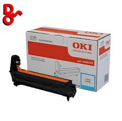OKI C532 Drum 46484107 Cyan Genuine OKI Drum EP Cartridge for sale Crawley West Sussex and Surrey