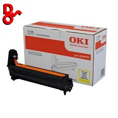 OKI C532 Drum 46484105 Yellow Genuine OKI Drum EP Cartridge for sale Crawley West Sussex and Surrey