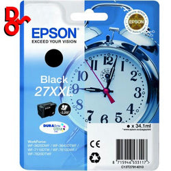 Epson C13T27914010 Black XXL 2.2k Ink Genuine Epson Cartirdge