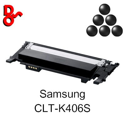 Samsung Toner CLTK406S, CLT-K406S Black Premium Compatible Quality Guaranteed for sale Crawley West Sussex and Surrey