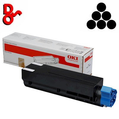 OKI B410 Toner 43979102 Black 3.5k Genuine OKI Toner Cartridge for sale Crawley west Sussex and Surrey