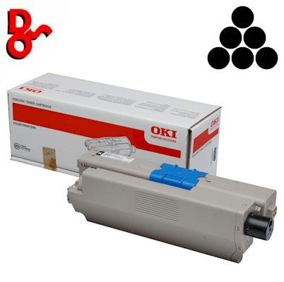 OKI C301 Toner 44973536 Black 2.2k Genuine OKI Toner Cartridge for sale Crawley West Sussex and Surrey