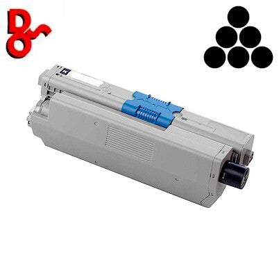 Black (K) Toner Cartridge Genuine OKI Executive Series OKI ES5430, ES5461 - 44469814, Oki 44469814, Oki 44469814 Black (K) Toner Cartridge, 44469814 Toner Cartridge