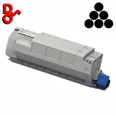 OKI ES8433 Toner 46443120 Black 10k Genuine OKI Executive Series Toner Cartridge