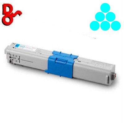 OKI MC363 Toner 46508715 Cyan 1.5k Genuine OKI Toner Cartridge for sale Crawley West Sussex and Surrey
