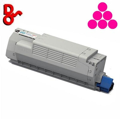 OKI C801 Toner 44643002 Magenta 7.3k Genuine OKI Toner Cartridge for sale Crawley West Sussex and Surrey