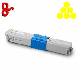 OKI C301 Toner 44973533 Yellow 1.5k Genuine OKI Toner Cartridge for sale Crawley West Sussex and Surrey