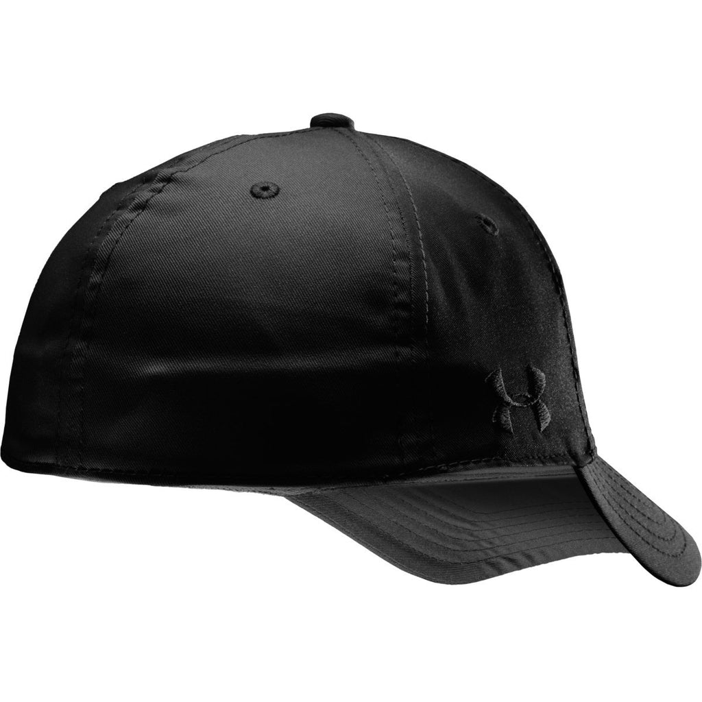 Under Armour Men's Black UA Friend or Foe Stretch Fit Cap